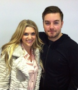 New BFF Alex Brooker and I